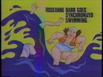 Roseanne Barr Goes Synchronized Swimming