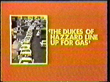 The Dukes of Hazzard Line up for Gas