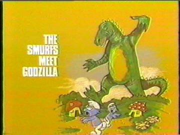 The Smurfs Meet Godzilla