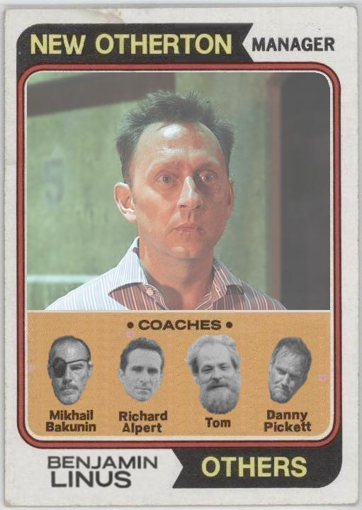 Ben Linus - LOST Baseball Card - Michael Emerson