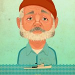 The Life Aquatic with Steve Zissou Poster by James Gilleard -- Bill Murray, Wes Anderson, Art