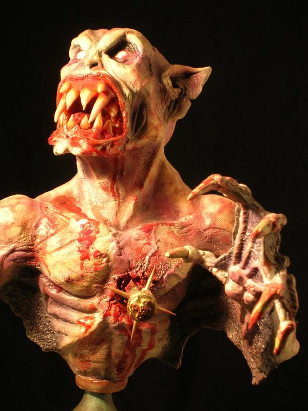 vampire sculpture by Micky Betts