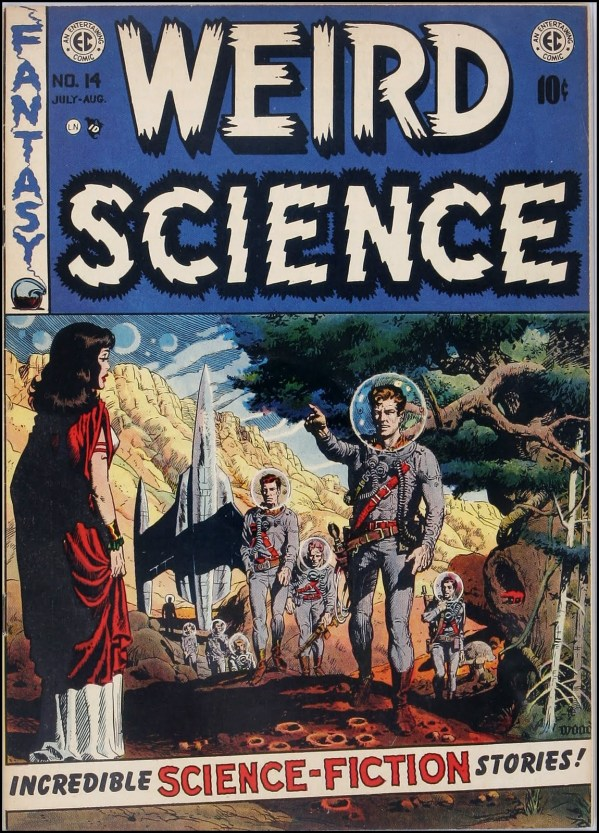 Weird Science 14 Cover Art by Wally Wood