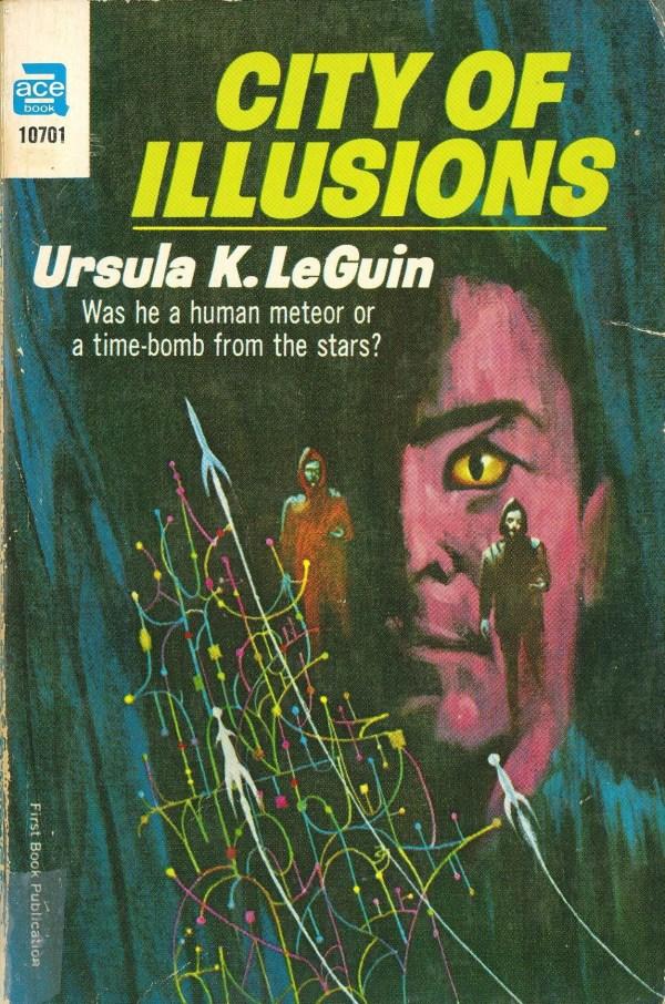 City of Illustions - Ursula k. LeGuin - art by jack gaughan