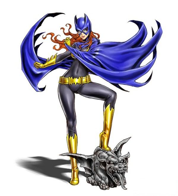 Bishoujo Style Batgirl by Shunya Yamashita - DC Comics, Batman, Anime, Manga