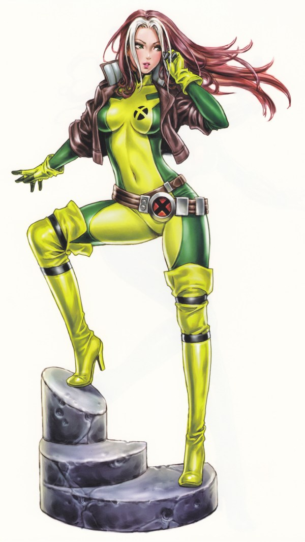 Bishoujo Style Rogue by Shunya Yamashita - Marvel Comics, X-Men, Anime, Manga