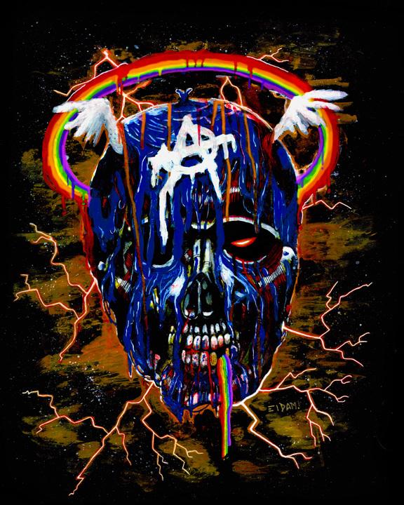 Captain America Skull by El Dam