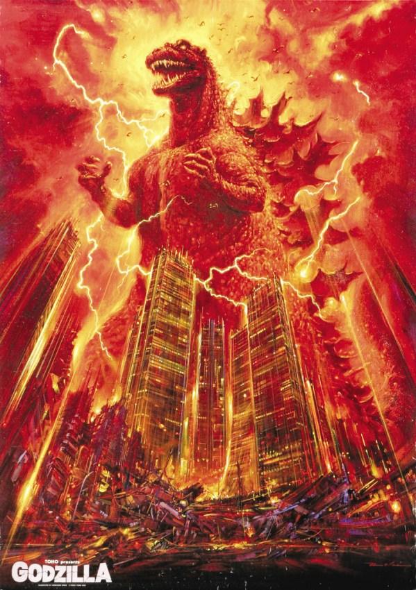 Godzilla 1984 (Toho, 1984) - Noriyoshi Ohrai Painting