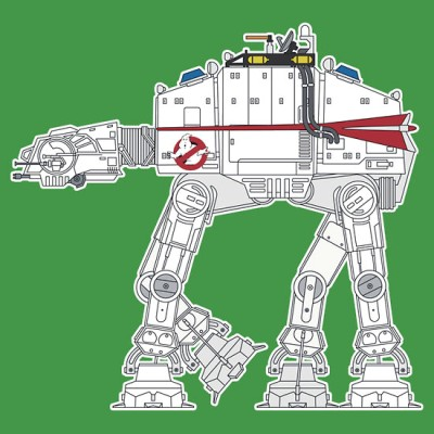 Ghostbusters AT-AT - Ecto-1, Star Wars
