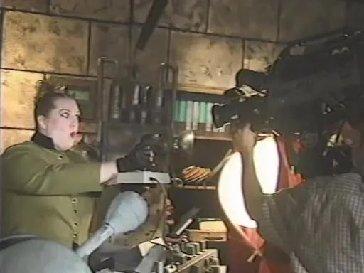 MST3K Last Dance - Mary Jo Pehl Filming Scene as Pearl Forrester