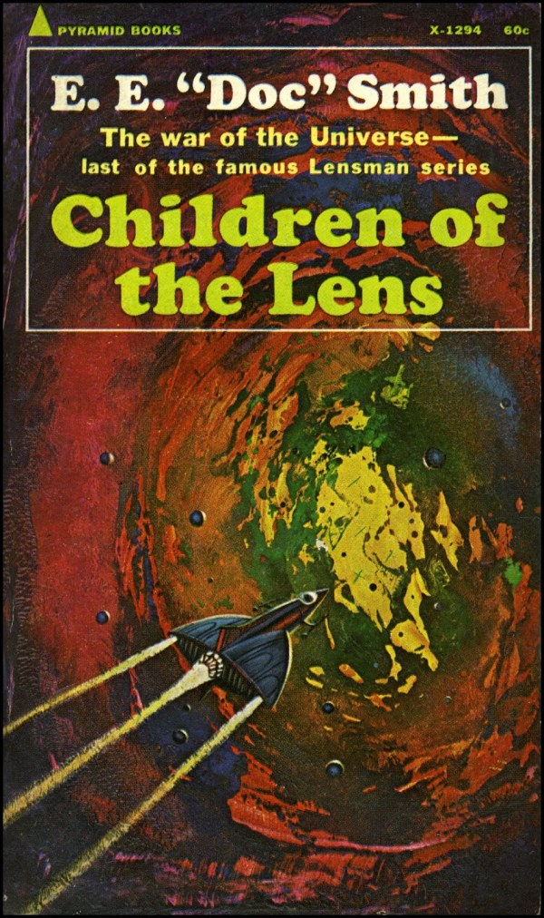 children of the lens - e.e. doc smith - cover by jack gaughan