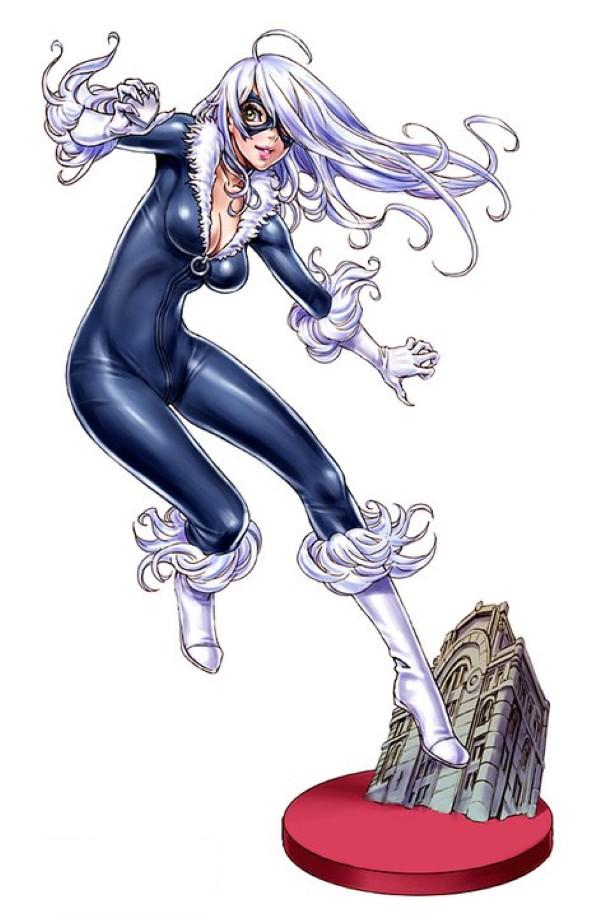 Bishoujo Style Black Cat by Shunya Yamashita - Marvel Comics