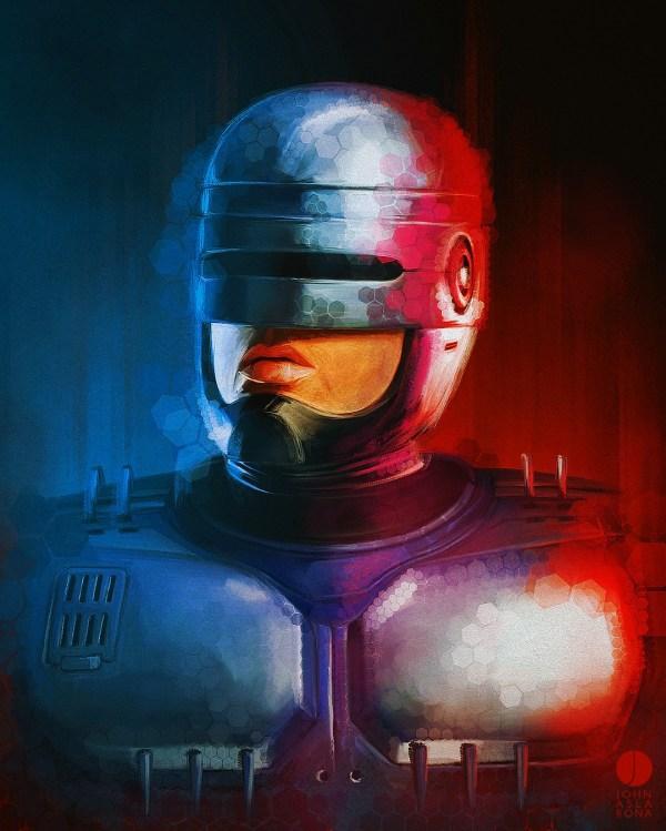 RoboCop by John Aslarona