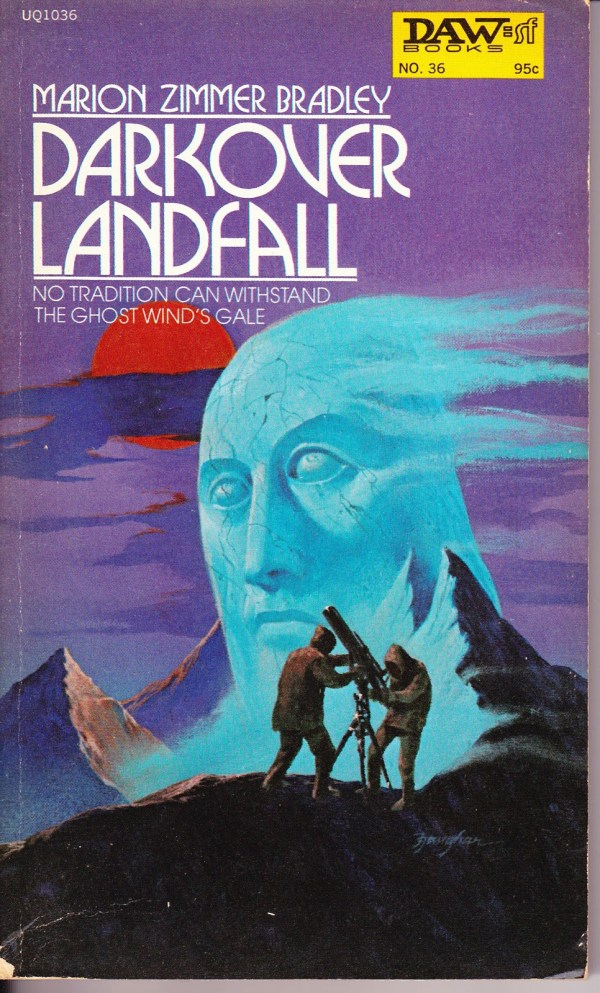 Darkover Landfall - Marion Zimmer Bradley - art by jack gaughan