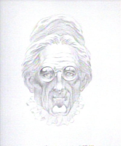 Ghostbusters: Library Ghost concept art by Berni Wrightson
