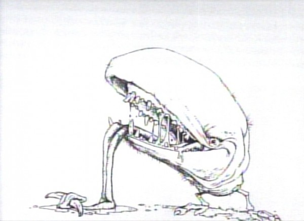 Onionhead - Early version of Slimer - Ghostbusters concept art