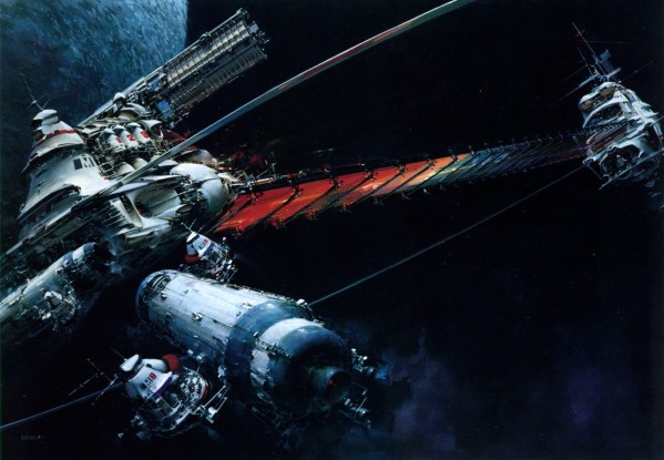 Science Fiction Illustrations by John Berkey - Sci-Fi Space Art (4)