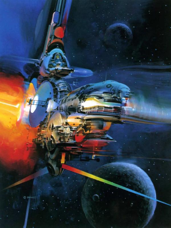 Beautiful Science Fiction Illustrations John Berkey