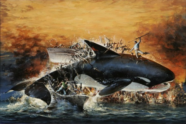 Orca (1977) Poster Art by John Berkey