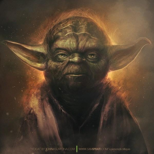 Yoda by John Aslarona - Star Wars