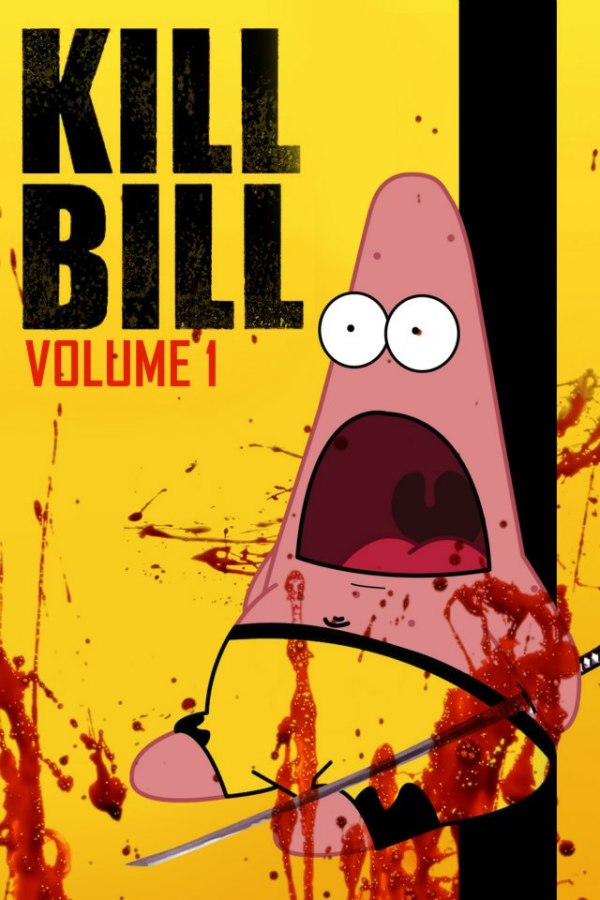 Surprised Patrick x Kill Bill Poster - SpongeBob SquarePants, Patrick Star, quentin tarantino