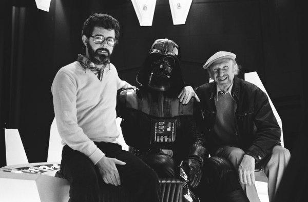 Producer George Lucas, David Prowse (Darth Vader), Director Irvin Kershner - Star Wars Empire Strikes Back Behind the Scenes
