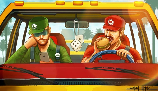 Super Mario Bros x Grand Theft Auto Mashup by Amirul Hafiz - Meanwhile in the Pussy Wagon