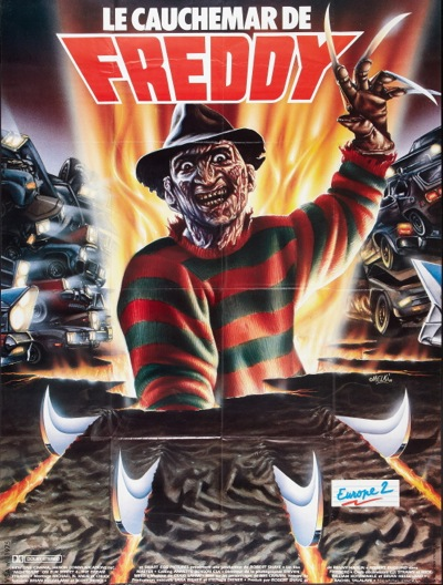 A Nightmare on Elm Street 4: The Dream Master - French Poster