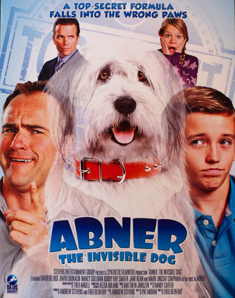 Abner the Invisible Dog - Most Ridiculous Movie Posters from Cannes 2013