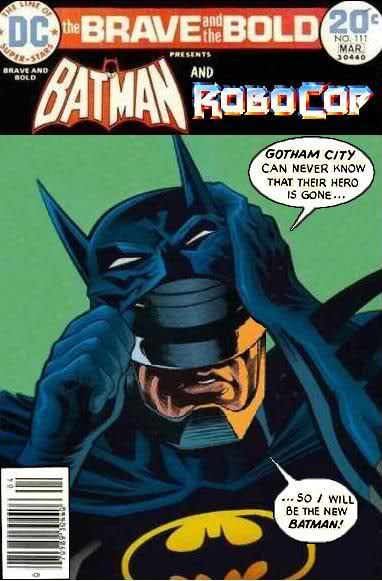 Robocop is the new Batman - Comics Crossover