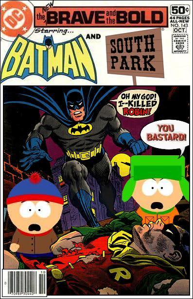 Batman and South Park Team-Up