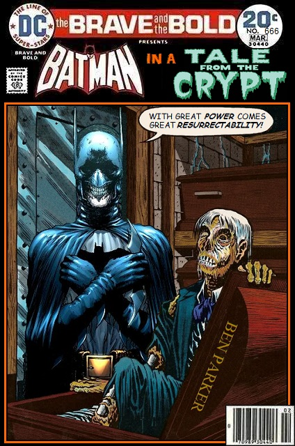 Batman x Tales from the Crypt - DC x EC Comics Crossover