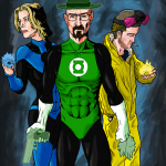 Breaking Lanterns by UltimateHurl - Breaking Bad x Green Lantern Mashup