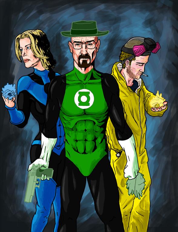 Breaking Lanterns by UltimateHurl - Breaking Bad x Green Lantern Mashup