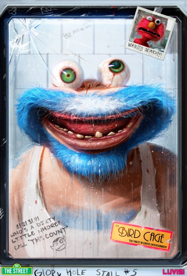 Cookie Monster by Dan LuVisi - Sesame Street - Muppets