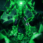 Iron Man in Kryptonite Anti-Superman Armor by Bosslogic