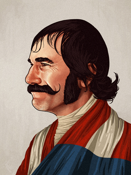 Bill 'The Butcher' Cutting (Daniel Day-Lewis) from Gangs of New York by Mike Mitchell - Martin Scorsese