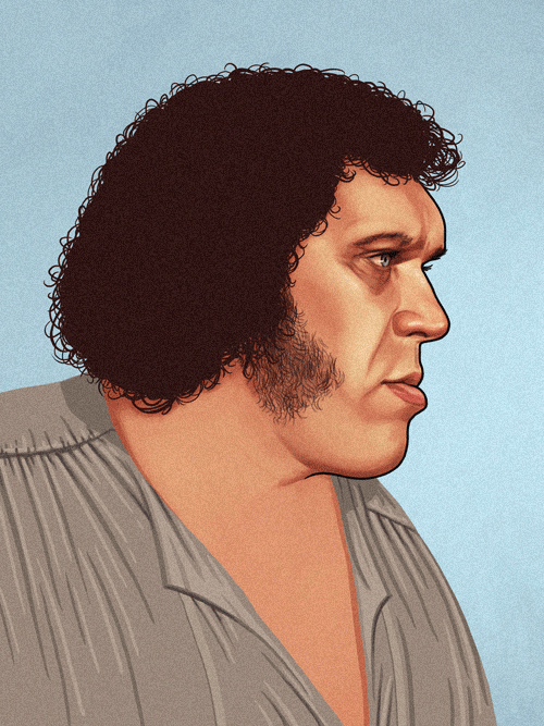 Fezzik (Andre the Giant) from The Princess Bride by Mike Mitchell