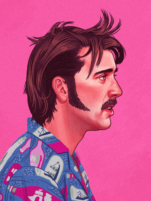 H. I. McDunnough (Nicolas Cage) from Raising Arizona by Mike Mitchell - Coen Brothers