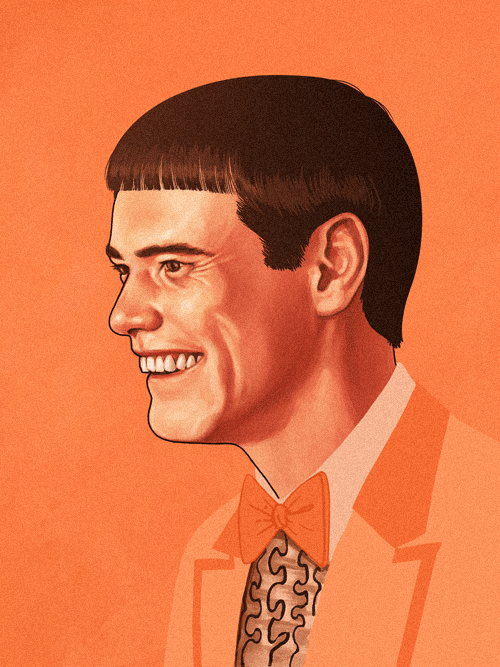 Lloyd Christmas (Jim Carrey) from Dumb & Dumber by Mike Mitchell