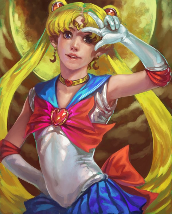 Sailor Moon by Nozomu Ikeuchi - Anime - Manga - Usagi Tsukino