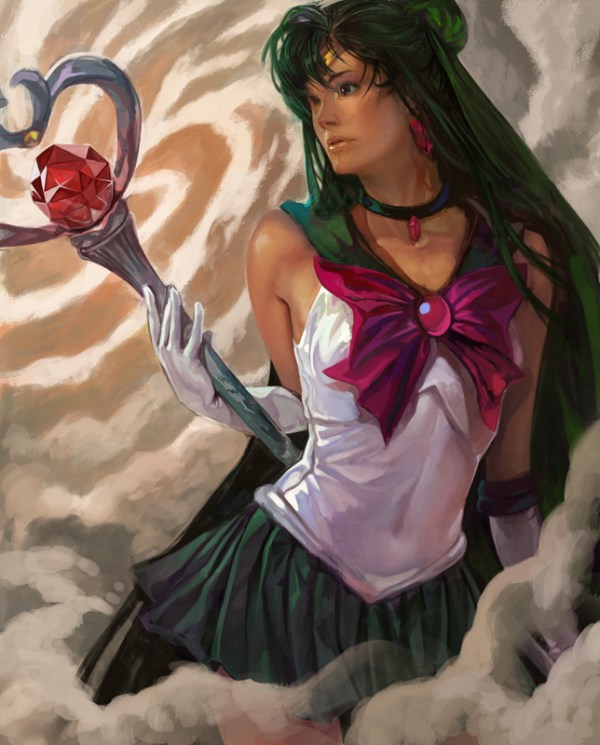 Sailor Pluto by Nozomu Ikeuchi - Sailor Moon - Anime - Manga