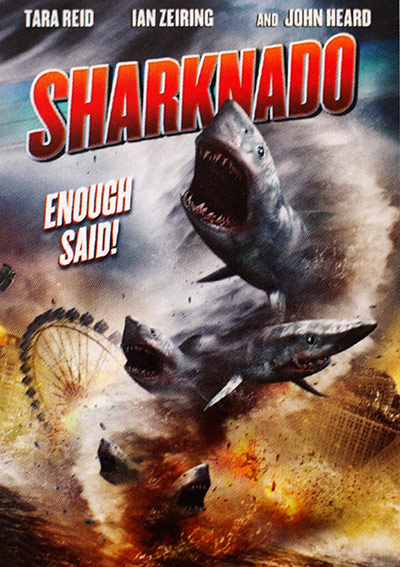 Sharknado - Most Ridiculous Movie Posters from Cannes 2013