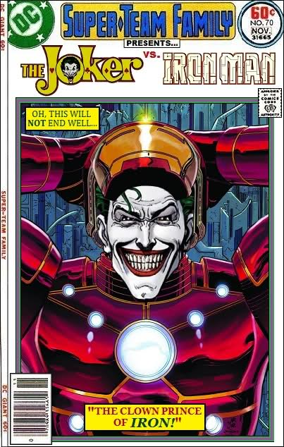 The Joker vs Iron Man - Marvel x DC Comics Crossover