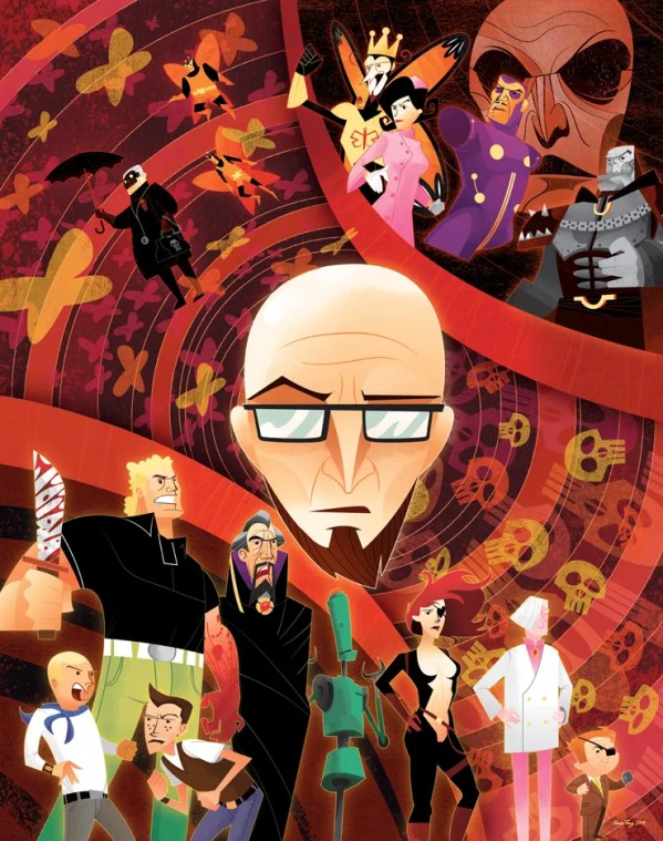 Venture Bros Poster by Kevin Tong