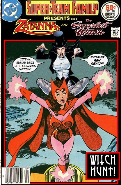Zatanna and Scarlet Witch Team-Up - DC x Marvel Comics Crossover
