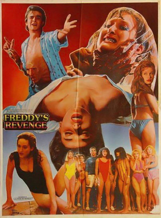 A Nightmare on Elm Street 2: Freddy's Revenge - Pakistani Poster