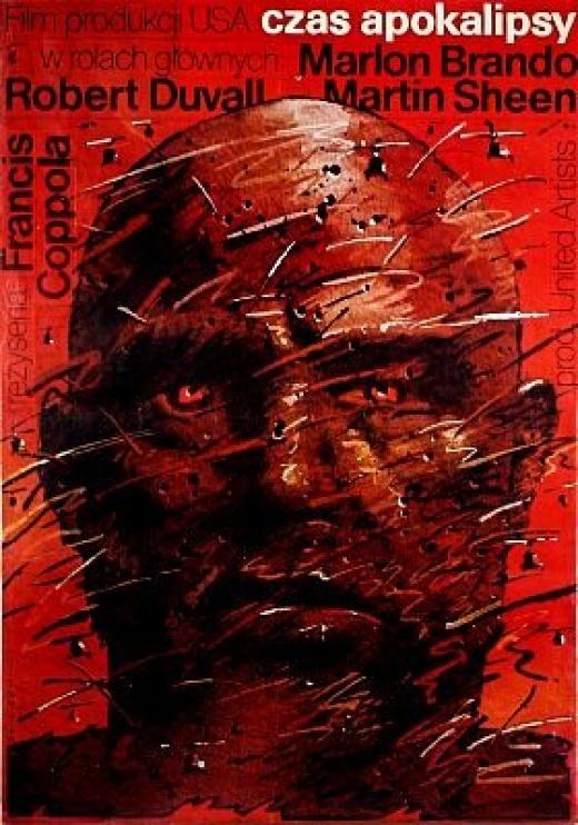 polish apocalypse now poster - francis ford coppola, Marlon Brando