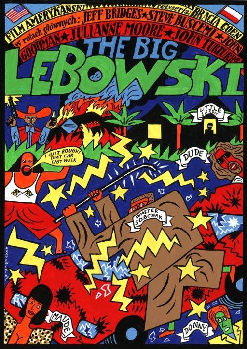 Polish Big Lebowski Poster - Coen Brothers, Jeff Bridges