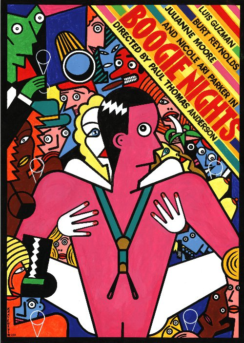 Polish Boogie Nights Poster